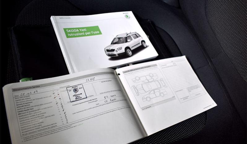 Skoda Yeti 1.6 TDI CR 105CV Ambition GreenLine completo
